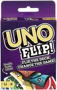 Mattel Games GDR44 UNO Flip Card Game - £3.29 Prime (+£4.49 Non Prime) delivered @ Amazon