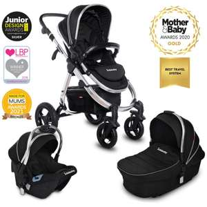 Infababy ULTIMO 4-Wheel 3in1 Travel System - Black Beauty - £359.99 delivered @ Infababy