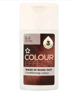 colour effects hair colour £1.99 but £7.02 for 6 @ Superdrug - Free order and collect