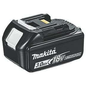 New Makita 18V 3.0AH LI-ION LXT Battery £45.98 delivered @ Screwfix