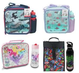 Lunch Bag & Bottle - Shark Print or Ocean Print - £2.50 / My Little Pony Bestie £3.25 / Marvel Comics - £2 (free click & collect) @ Argos