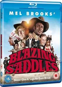 Blazing Saddles, [Blu-ray] [1974] [Region Free] 40th Anniversary Edition £6.40 @ Amazon (£2.99 p&p non prime)