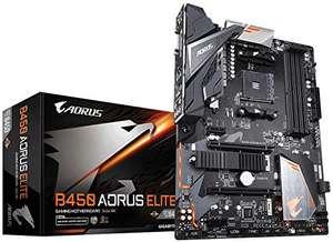 Aorus B450 Aorus Elite (Socket AM4 / B450 / DDR4 / S-ATA 600 / ATX) £65.50 @ Amazon