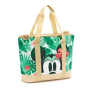 50% off Tropical Hideaway ** Disney Store Mickey and Minnie Tropical Hideaway Cooler Bag - £9 + £3.95 Delivery @ ShopDisney
