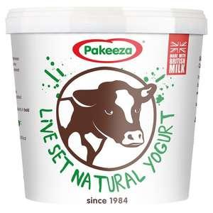 Pakeeza Live Set Natural Yogurt 900g - £1.00 @ Morrisons