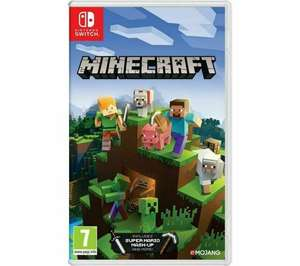 Free minecraft bedrock when you buy Nintendo Switch console for £279 at Crewe Tesco Extra