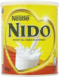 Nido Full Cream Milk Powder 400g - £3 @ Asda