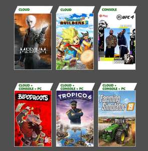 Xbox Game Pass Additions - UFC 4, Tropico 6, Bloodroots, Farming Simulator 19 & More