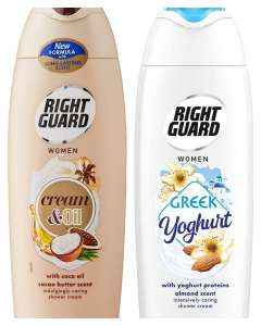 Right Guard Women Shower Gel, Coco Oil/Greek yogurt,6 x 250 ml £4.79 (£4.49 p&p non prime) voucher & s&s £3.83 @ Amazon
