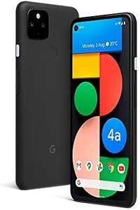 Google Pixel 4a 5G Android Mobile phone- 128GB Just Black, SIM Free, Adaptive Battery £429 @ Amazon