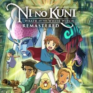 Ni no Kuni: Wrath of the White Witch Remastered (PS4) - £7.99 @ Playstation PSN