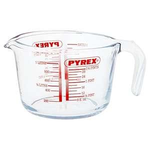 Pyrex Glass Measuring Jug, 1L - £5 Prime / +£4.49 non Prime @ Amazon