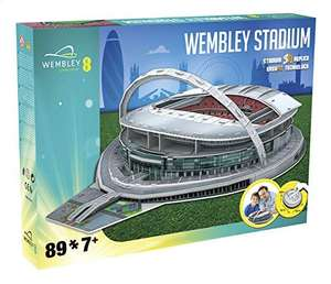 Can't get to Wembley on Sunday? Built it instead! Paul Lamond Games 3845 Wembley 3D Stadium £9.70 (+£4.49 Non Prime) at Amazon