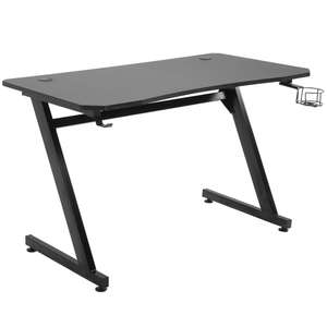 HOMCOM Steel Frame Gaming Desk Writing Table w/ Cup Headphone Holder £52.79 Delivered using code (UK Mainland) @ Aosom