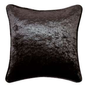 Extra 20% Off sale at checkout (e.g. Allure Charcoal Crushed Velvet Filled Cushion (45cm x 45cm) for £8.75 delivered) @ Julian Charles