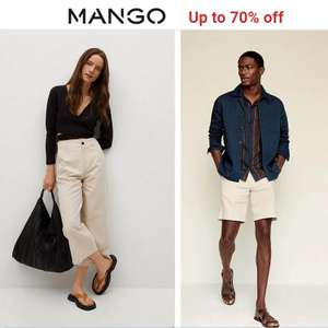 Mango Sale - Up to 70% off + Free Click & Collect & Free Returns (delivery £2.95 / Free on £30) @ Mango