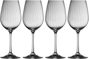 Galway Crystal Erne Wine Glasses Set of 4 - £12.88 (+ £4.49 non prime) at Amazon