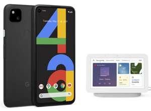 Google Pixel 4a 128GB Black Smartphone (Snapdragon 730) + Google Nest Hub 2nd Gen - £318.99 Delivered @ BT Shop