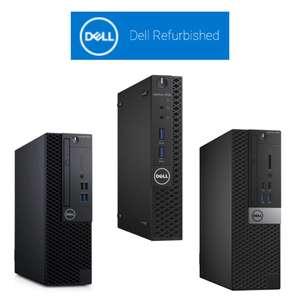 48% off All Refurbised Dell Desktop PCs - i5 8500/256GB/8GB SFF £300.58 / i5-9500T model £338.82 Delivered @ Dell Refurbished