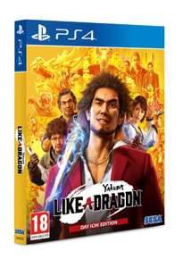 PS4 Yakuza: Like a Dragon Day Ichi Steelbook Edition + Steelbook & Legends Costume Set £20.85 delivered at ShopTo