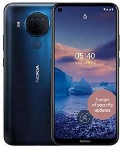 Nokia 5.4 6.39 Inch Android UK SIM Free Smartphone with 4 GB RAM and 64 GB Storage (Dual SIM) - £119.99 @ Amazon