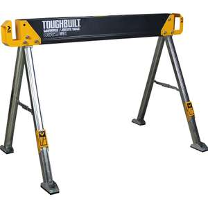 ToughBuilt Saw Horse C550 - £38.38 (Free Click & Collect / Free Delivery) @ Toolstation