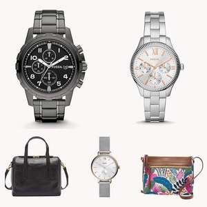 Fossil up to 50% Off Sale + Extra 30% Off Sale & Outlet items at checkout + 15% Off Newsletter code + Free UK Mainland Delivery @ Fossil