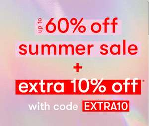 Extra 10% off the up to 60% Sale with code Click and collect £1.99 free on Orders over £19.9 + Free Returns From New Look