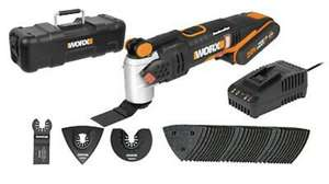 WORX WX693.1 18V (20V MAX) Cordless Brushless Sonicrafter with 2*2.0Ah Batteries - £89.99 delivered @ WORX / eBay
