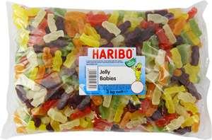 HARIBO Jelly Babies, bulk bag sweets, Jelly Men, 3kg bulk sweets £14.99 + £4.49 NP (£14.24 S&S) @ Aazon