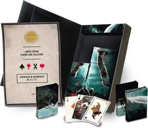 Cartamundi Harry Potter Limited Edition Playing Cards - £7.00 (£2.99 postage) at The Works
