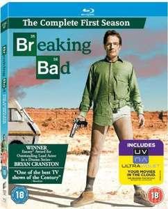 Breaking Bad - Season 1 (Blu-ray + UV Copy) [Region Free] £1.90 delivered + £2.99 p&p non prime @ Amazon