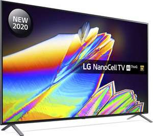 LG 55NANO956NA 55'' 8K NanoCell TV with 5 year warranty £779 delivered with code @ Currys PC World