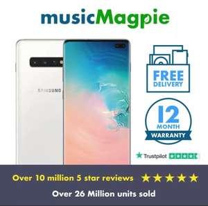Samsung Galaxy S10+ Plus 512GB Unlocked Ceramic white, Used good with code £244.79 @ msuicmagpie / eBay