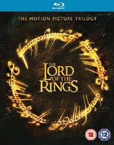 The Lord of the Rings Motion Picture Trilogy Theatrical Version 3 Disc Blu-ray (used) £4.04 delivered with code @ World of Books