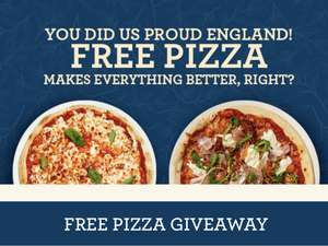 Free pizza when dining in with code at Bella Italia (2000 voucher per day)