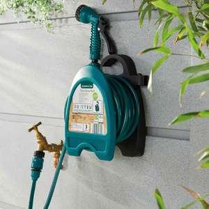 Gardenline 10m Mini Hose Reel Kit £8.99 (instore) / £8.99 + £2.95 delivery UK Mainland (online) + 3 Year Warranty @ Aldi