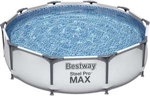 Bestway Swimming Pool Steel Pro MAX 56406 - FrameLink System 305 x 76 cm - £87.55 delivered (UK Mainland) Sold by Amazon EU @ Amazon
