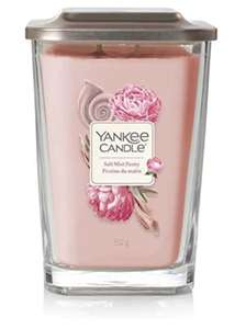 Yankee Candle Large 2-Wick Square Scented Candle with Platform Lid, Elevation Collection, Salt Mist Peony £13.93 (+£4.49 nonPrime) Amazon
