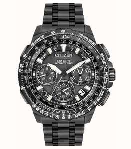 Citizen Eco-Drive Satellite Wave Watch Titanium Black Plated Model CC9025-85E £895 @ First class watches