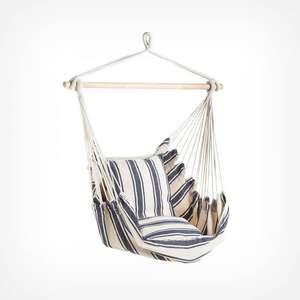 Striped Hanging Garden Chair £21.24 delivered with code (UK Mainland) + 2 Year Warranty @ VonHaus