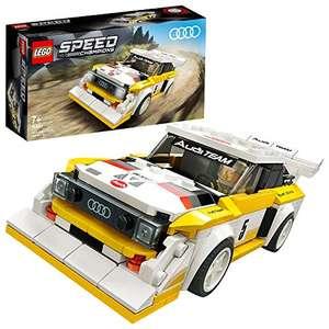 LEGO Speed Champions 76897 Audi Sport quattro S1 Race Car £12.99 Prime/ +£4.49 non Prime at Amazon