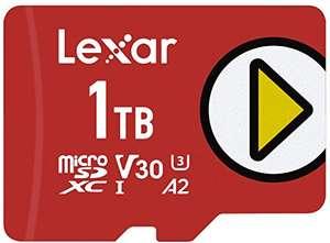 1TB - Lexar PLAY microSDXC UHS-I Card, A2 U3 V30, Up To 150MB/s Read (LMSPLAY001T-BNNAG) - £140 delivered @ Amazon