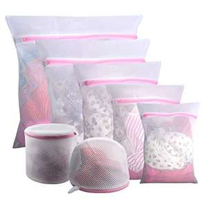 7 Piece Mesh Laundry Bags, Reuseable, Durable - £4.04 (+ £4.49 Non Prime) @ Sold by Gogooda Direct & Fulfilled by Amazon