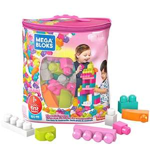 Mega Bloks DCH62 Big Building Bag, Pink £7.15 + £4.49 NP @ Amazon