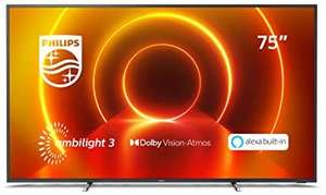 """Philips 75PUS7805 75"""" Smart Ambilight 4K Ultra HD - £831.60 with code @ AO"""