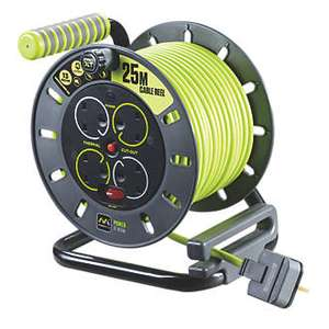 PRO XT 13A 4-GANG 25M Cable Reel 240V - £23.99 Free Click & Collect at Screwfix