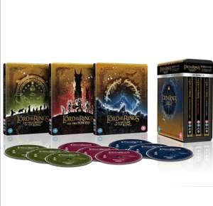 The Lord of the Rings Trilogy - Limited Edition 4K Ultra HD Steelbook Collection £87.99 using code (Red Carpet Members only) @ Zavvi