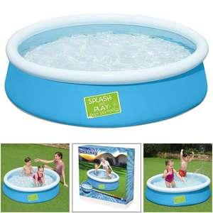 Bestway 5ft Kids My First Fast Set Paddling Pool - £13.59 Delivered Using Code @ eBay / trueboypoole