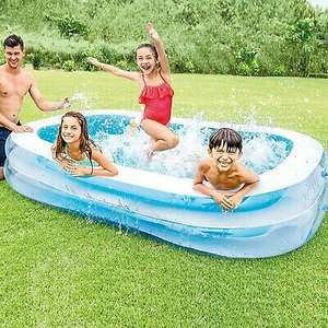 Intex Large Inflatable Outdoor Swimming Paddling Pool (8.6 x 5.8 ft) £23.99 delivered with code @ daily-deals-ltd / ebay
